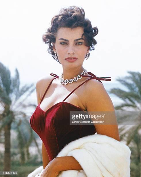 Italian actress Sophia Loren circa 1965