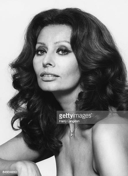 Italian actress Sophia Loren poses for a portrait circa 1978 in Los Angeles California