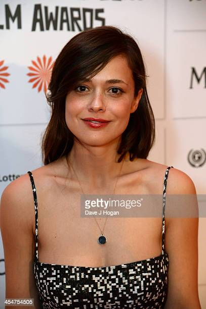 Italian Actress Valeria Bilello arrives on the red carpet for the Moet British Independent Film Awards at Old Billingsgate Market on December 8 2013...