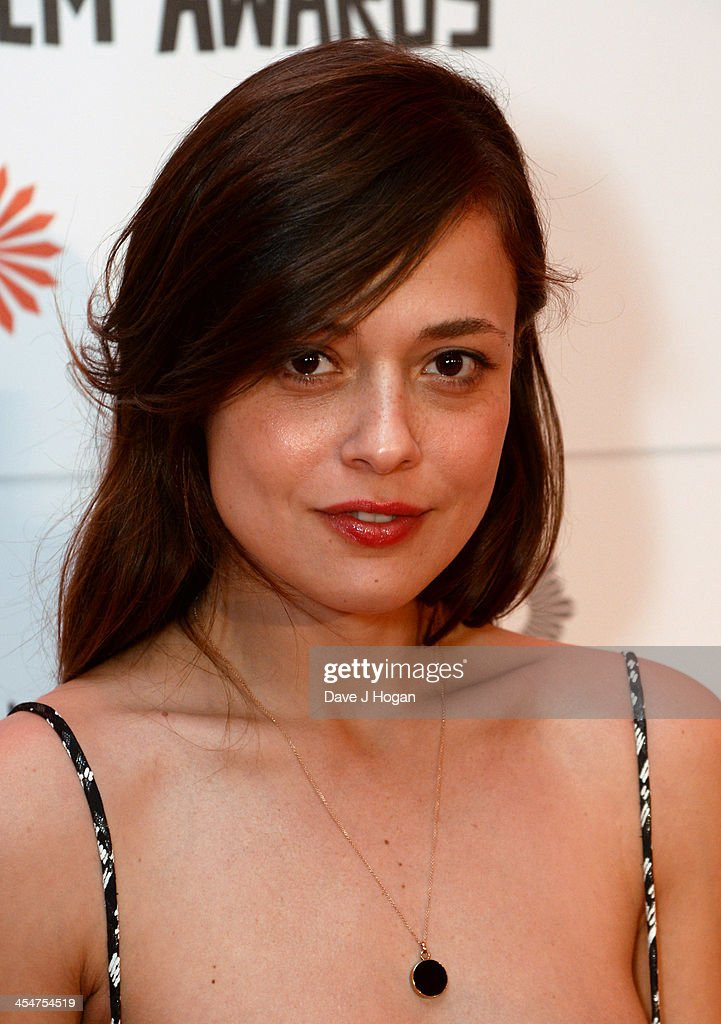 Italian Actress Valeria Bilello arrives on the red carpet for the Moet British Independent Film Awards at Old Billingsgate Market on December 8, 2013 in London, England.