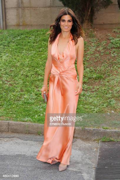 Italian actress Valeria Solarino arrives at the David Di Donatello Awards at Studi Dear on June 10 2014 in Rome Italy
