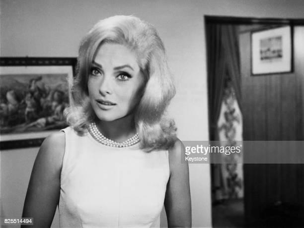 Italian actress Virna Lisi as Dorothea in the segment 'L'ora di punta' from the film 'Oggi Domani Dopodomani' Italy 9th September 1965