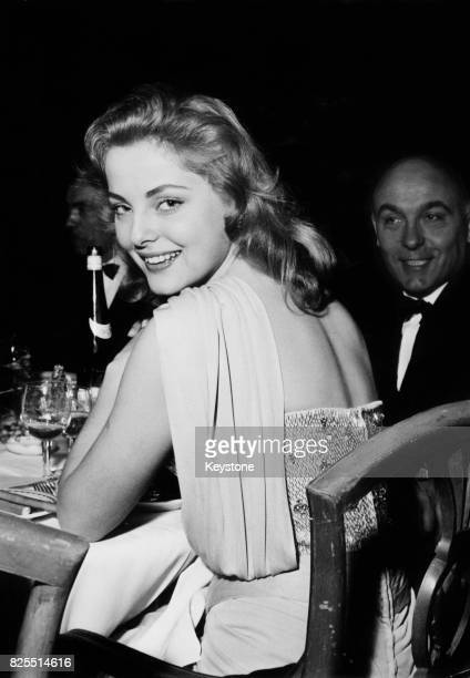 Italian actress Virna Lisi attends the Italian Film Festival organised by the Consorzio Stampa Cinematografica at the Grand Hotel in Rome Italy 15th...