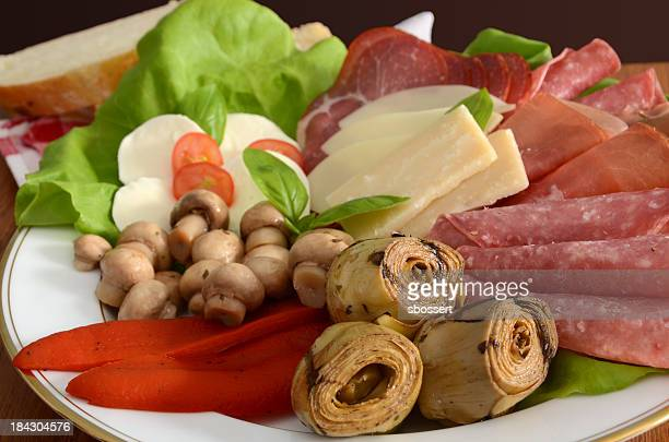 Italienische Antipasti-Platte