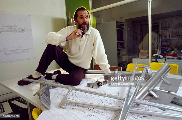 Italian architect Renzo Piano one of the designers of the Pompidou Center in Paris