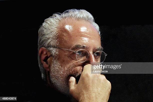 Italian art critic and art curator Francesco Bonami attends the Pitti Fragranze 13 at Stazione Leopolda on September 12 2015 in Florence Italy Pitti...