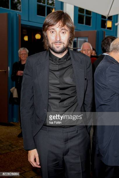 Italian artist Francesco Vezzoli attends the Bayreuth Festival 2017 Opening on July 25 2017 in Bayreuth Germany
