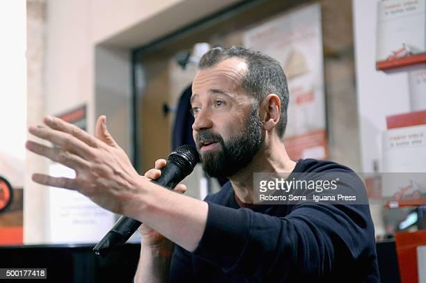 Italian author and actor Fabio Volo attendsthe presentation of his latest book 'E' Tutta Vita' atCoop Ambasciatori Bookshop on December 3 2015 in...
