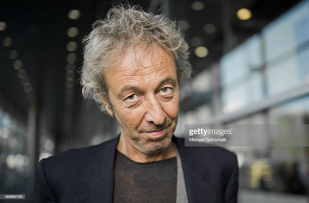 Italian Author Luca di Vulvio poses during a portrait session at the 2013 Frankfurt Book Fair on October 10, 2013 in Frankfurt, Germany. This year's fair will be open to the public from October 9-13 and the official partner nation is Brazil.