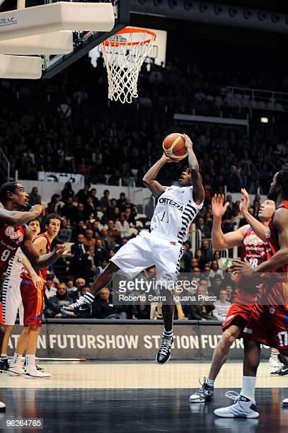Italian Basketball Championship 2008/2009 TIM CUP Final Eight Coppa Italia quarter final Virtus La Fortezza Bologna vs Virtus Lottomatica Roma Earl...