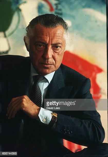 Italian businessman Gianni Agnelli of Fiat