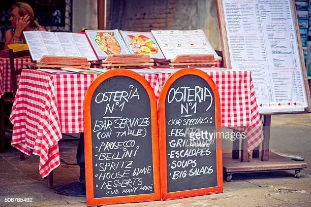 Italienisches Café in Venedig, Italien