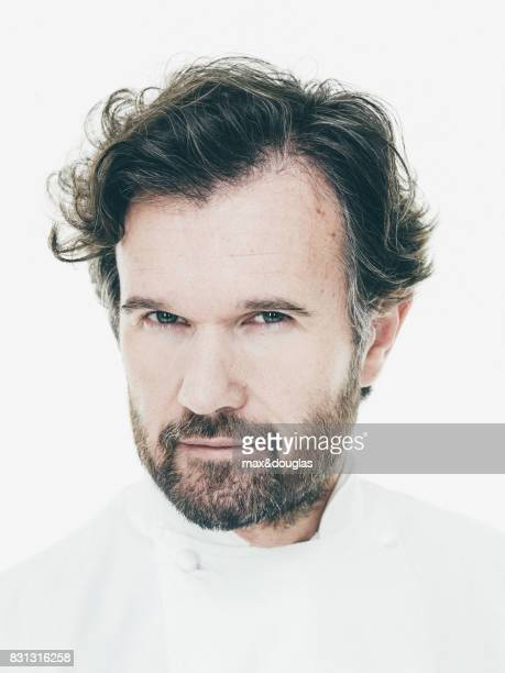 Italian Chief Carlo Cracco is photographed for Sancarlo on February 10 2014 in Milan Italy