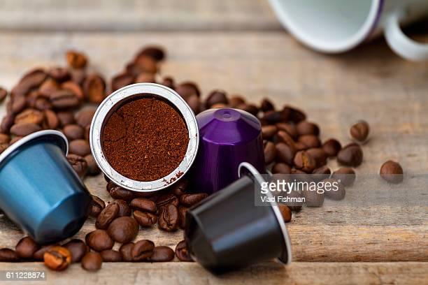 Italian coffee capsules
