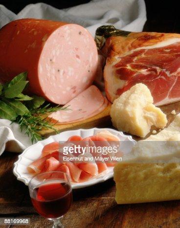 Italian cold cut assortment