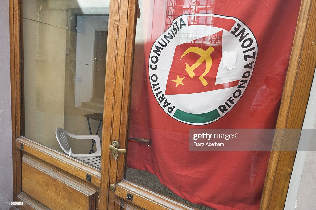 Italian Communism : Stock Photo