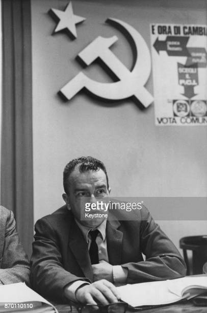 Italian Communist politician Pietro Ingrao after his election as President of the Italian Chamber of Deputies 7th July 1976