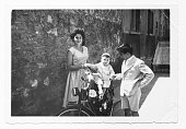 Italian cousins in 1952