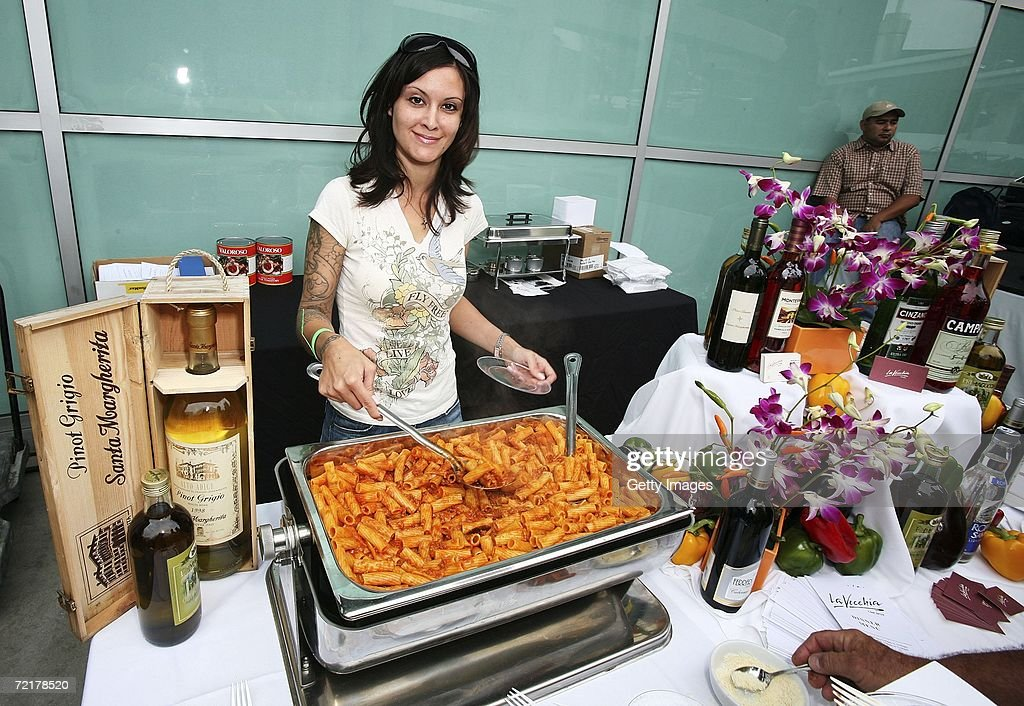 Italian Cuisine Served At U0027The World Cuisine Eventu0027 Hosted By LA Magazine  At The