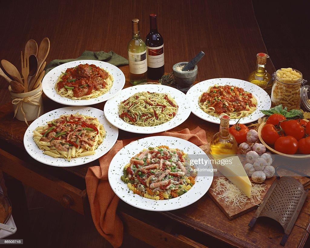 Italian cuisine still life