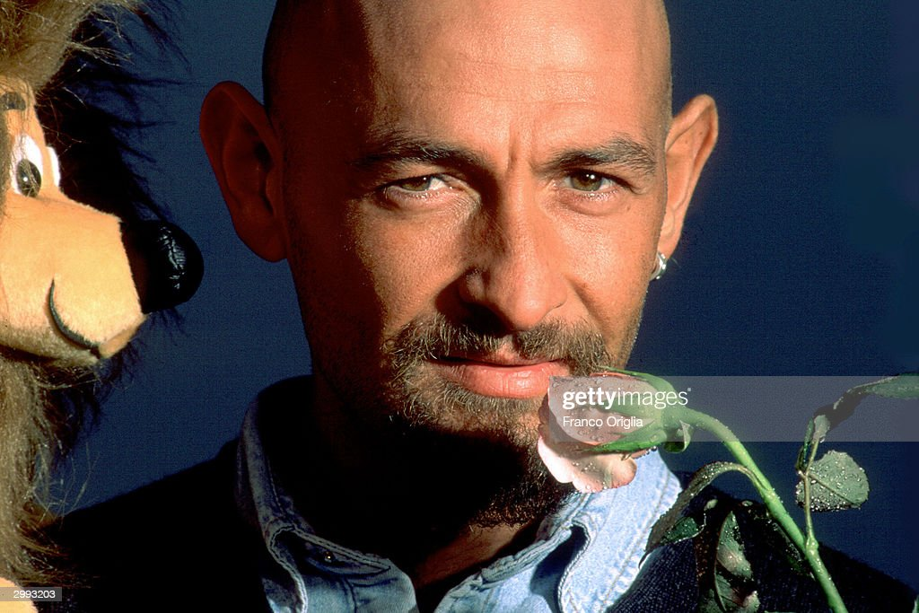 Italian cyclist Marco Pantani, Tour de France and Giro d'Italia race winner in 1998, poses as a champion of the year for the Gazzetta dello Sport magazine cover in November, 1998 in Cesenatico, Italy. The rose is the symbol of the Giro d'Italia and the lion of the Tour de France. Pantani, 34, was found dead February 14, 2004 in his hotel room in Rimini, Italy.