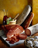 Italian deli meats