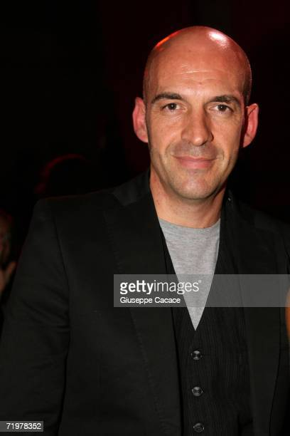Italian designer Antonio Marras attends the Lancome Party at the Pelota on September 23 2006 in Milan Italy