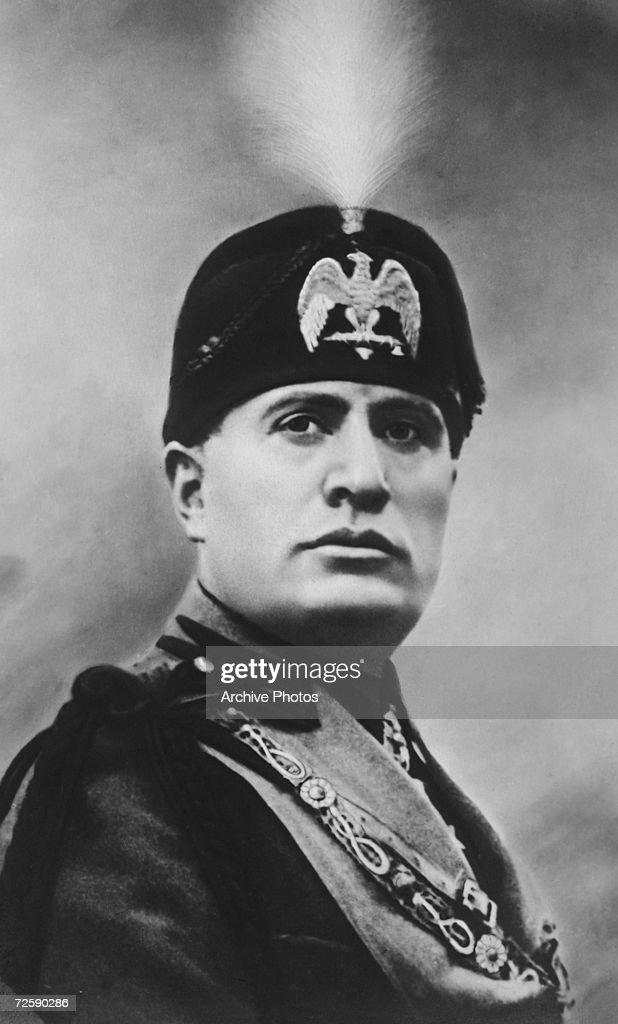Italian dictator <a gi-track='captionPersonalityLinkClicked' href=/galleries/search?phrase=Benito+Mussolini&family=editorial&specificpeople=90389 ng-click='$event.stopPropagation()'>Benito Mussolini</a> (1883 - 1945), circa 1930.