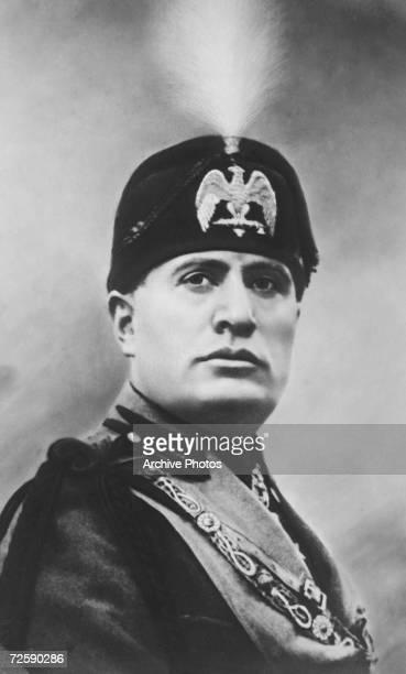 Italian dictator Benito Mussolini circa 1930