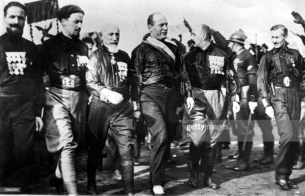 a brief look at benito mussolini an italian fascist leader Totalitarianism: totalitarianism is  italian dictator benito mussolini coined the term totalitario in the early 1920s to characterize the new fascist state of.