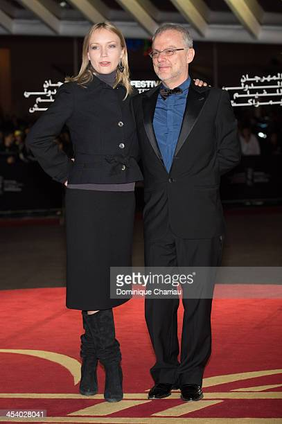 Italian director Daniele Luchetti and guest attend the 'One Chance' Premiere during the13th Marrakech International Film Festival on December 6 2013...
