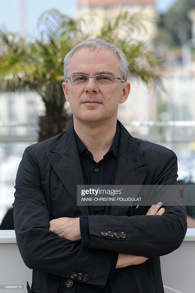 Italian director Daniele Luchetti poses during the photocall of 'La Nostra Vita' (Our Life) presented in competition at the 63rd Cannes Film Festival on May 20, 2010 in Cannes.