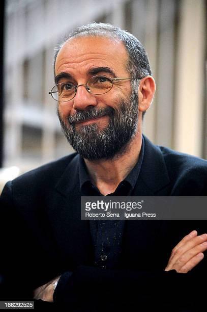 Italian director Giuseppe Tornatore unveils his latest book 'Io lo Chiamo Cinematografo' at Renzo Renzi library of Cineteca di Bologna on April 8...