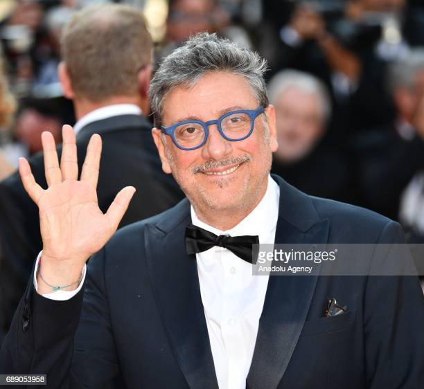Italian director Sergio Castellitto arrives for the screening of the film D'apres Une Histoire Vraie out of competition at the 70th annual Cannes...