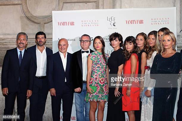italian directors actors and models attend the opening of ' Douglas Kirkland a Life in Pictures' Exhibition at Telecom Future Center on August 29...