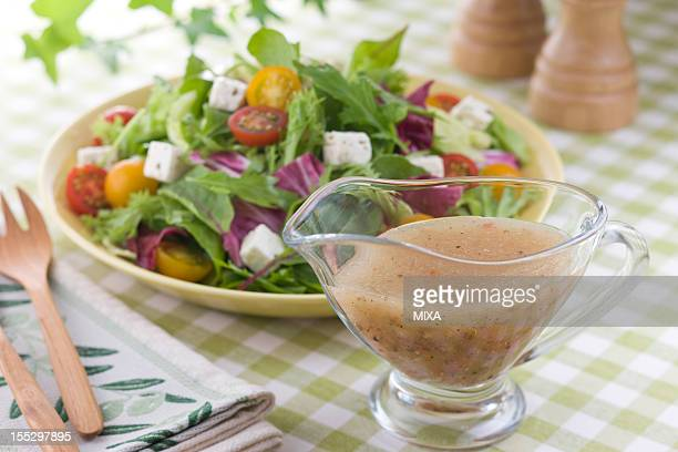 Italian Dressing and Salad