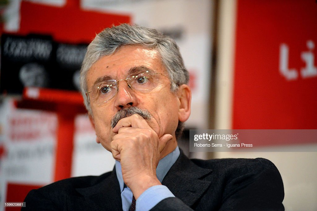 Massimo d'Alema Book Presentation 'Controcorrente'
