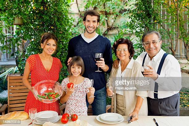 Italienischem Ambiente Tisch