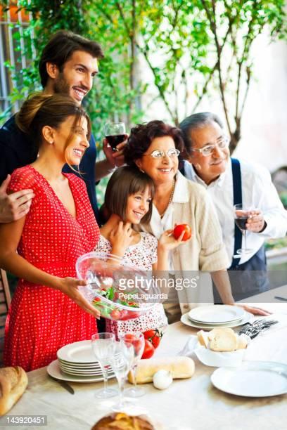 Família italiano definição de tabela