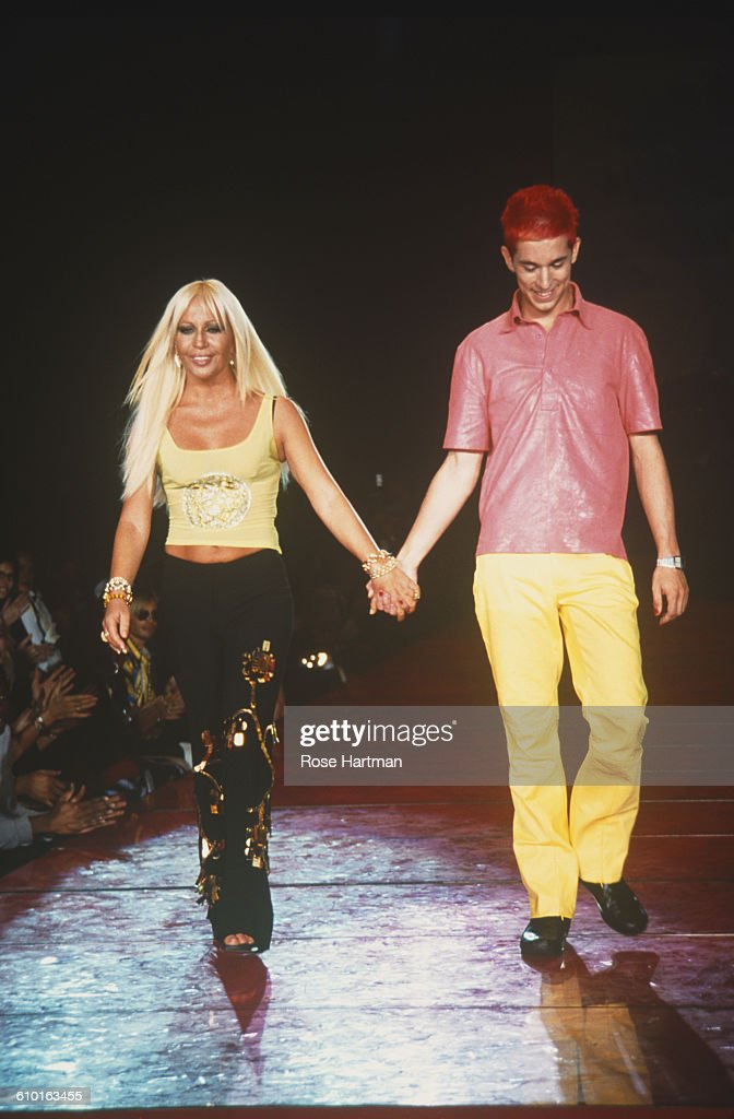 Donatella Versace Fashion Show