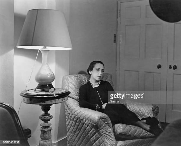 Italian fashion designer Elsa Schiaparelli 6th March 1936