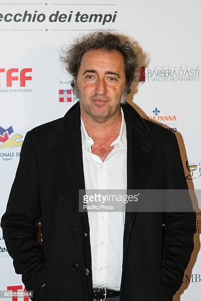 Italian film director Paolo Sorrentino arrives at Torino Film Festival to receive 'Premio Langhe Roero Monferrato' award