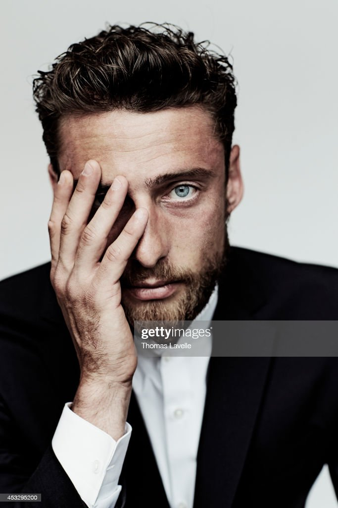 Italian footballer <a gi-track='captionPersonalityLinkClicked' href=/galleries/search?phrase=Claudio+Marchisio&family=editorial&specificpeople=4604252 ng-click='$event.stopPropagation()'>Claudio Marchisio</a> is photographed for GQ Italy on April 22, 2014 in Turin, Italy.