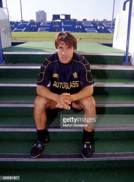 Italian footballer Gianfranco Zola Chelsea London United Kingdom 1999