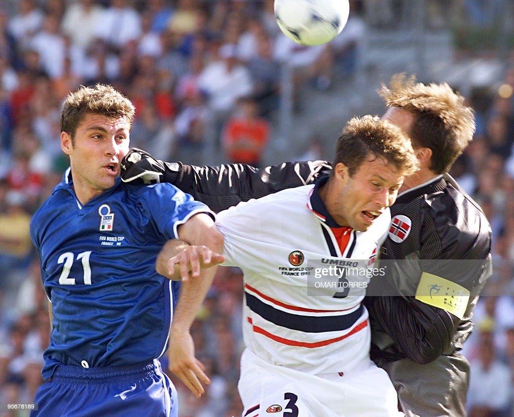 Italian forward Christian Vieri L s