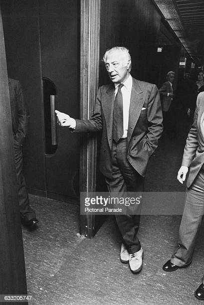 Italian industrialist Gianni Agnelli president of vehicle manufacturer Fiat 1983 Photo by Vezio Sabatini/Pictorial Parade/Archive Photos/Getty Images