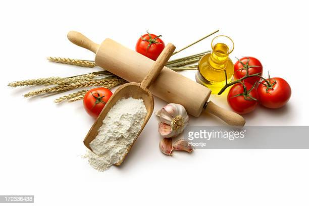 Italian Ingredients: Flour, Tomatoes, Garlic, Wheat and Olive Oil