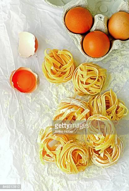 Italian ingredients, pasta