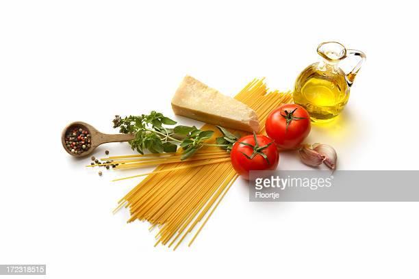 Italienische Zutaten: Spaghetti