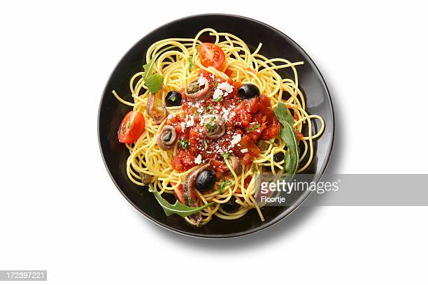 Italian Ingredients: Spaghetti Puttanesca